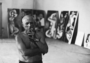 Picasso, now he's an artist.